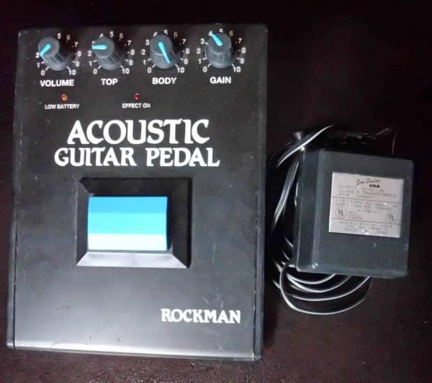 rockman acoustic guitar pedal reverb. Black Bedroom Furniture Sets. Home Design Ideas
