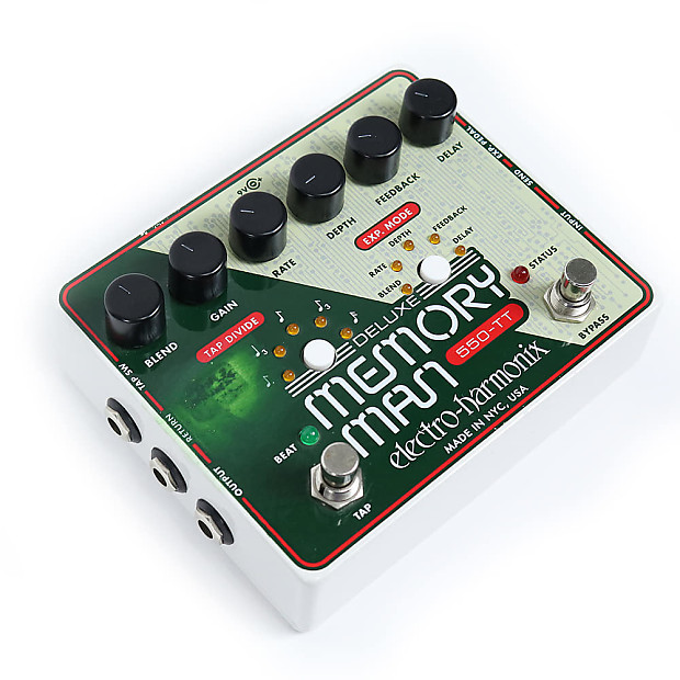 used 2013 electro harmonix deluxe memory man 550 tt delay reverb. Black Bedroom Furniture Sets. Home Design Ideas