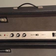 Sunn Sonic 1 tube amplifier from 1967.  Rare S/N 2201 image