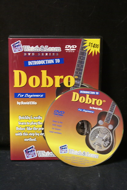 Watch & Learn Introduction To Dobro DVD For Absolute