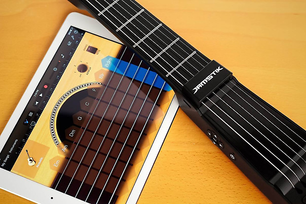 zivix jamstick portable bluetooth digital guitar for ipad reverb. Black Bedroom Furniture Sets. Home Design Ideas