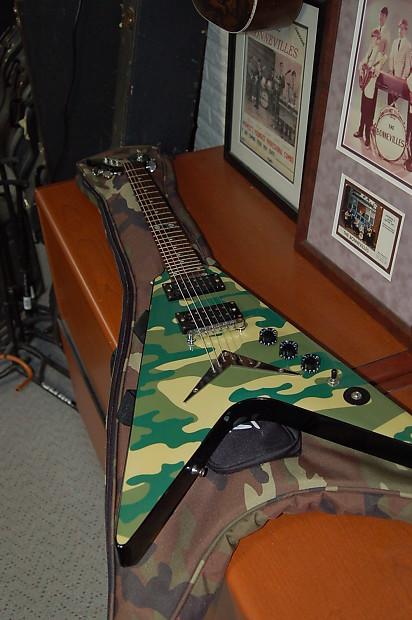 dimebag darrell guitar camo - photo #41