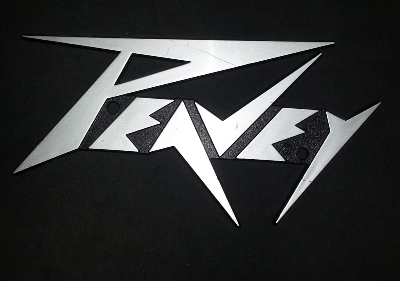 Peavey Logo Nameplate For Guitar Amp Free Shipping Reverb
