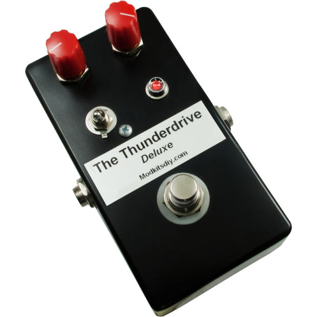 kit the thunderdrive deluxe overdrive pedal mod kits diy reverb. Black Bedroom Furniture Sets. Home Design Ideas