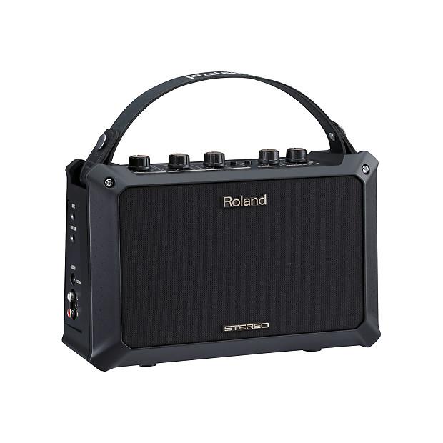 roland mobile ac 5 watt acoustic guitar amplifier bundle reverb. Black Bedroom Furniture Sets. Home Design Ideas