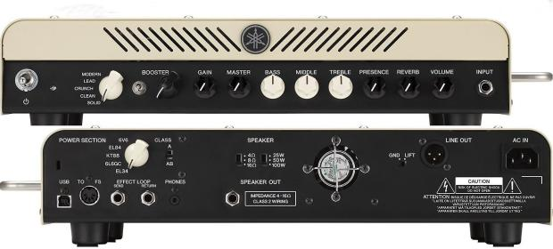 Yamaha thr100h 100w modeling head reverb for Yamaha thr10x review