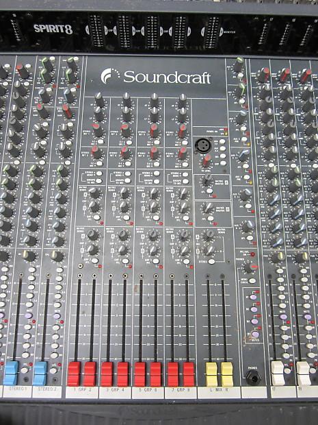 Soundcraft Digital Mixer 32 Channel Price : soundcraft spirit 8 32 channel mixer reverb ~ Russianpoet.info Haus und Dekorationen