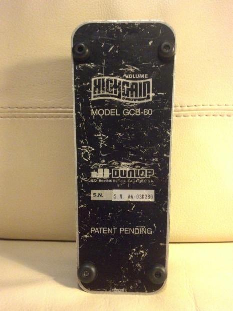 Jim Dunlop Gcb 80 High Gain Volume Pedal Free Shipping