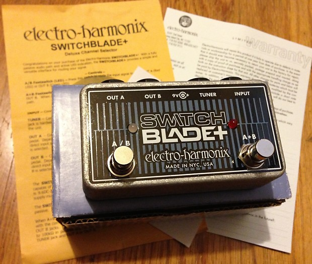 electro harmonix switchblade plus nib reverb