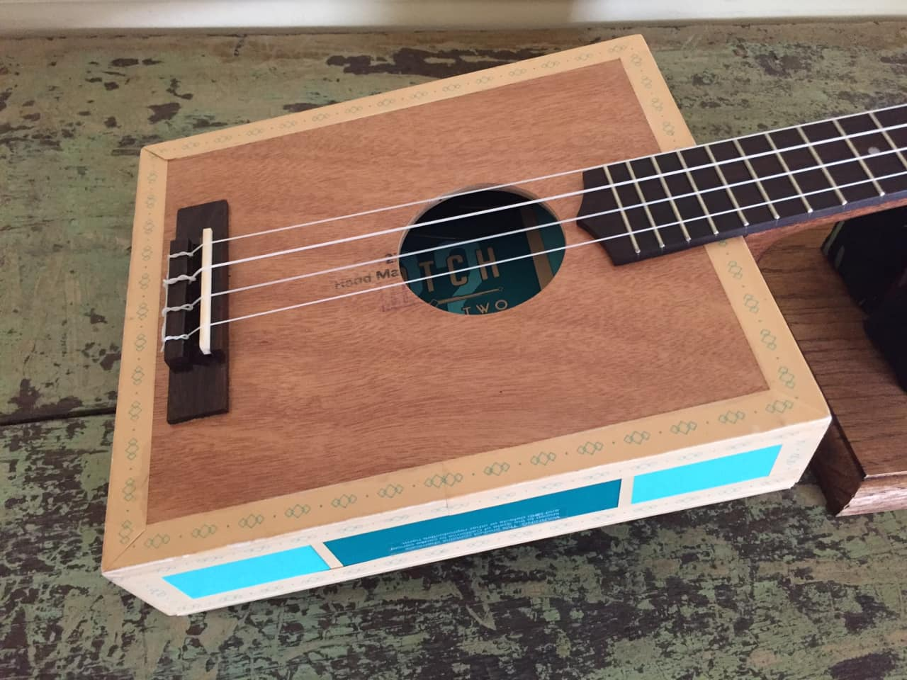 taconic cigar box guitar tenor ukulele catch 22 double reverb. Black Bedroom Furniture Sets. Home Design Ideas