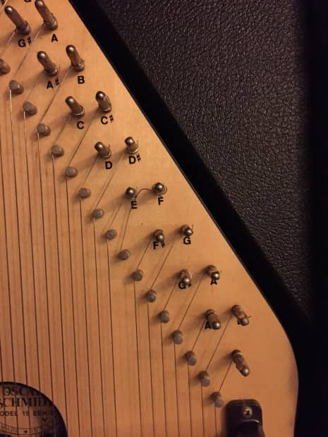 Petes Auto Sales >> Oscar Schmidt Model 15 EBH/R Autoharp w/ Tuning Wrench
