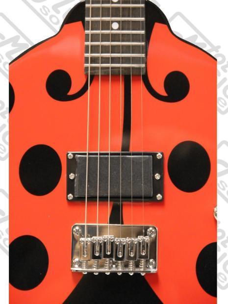 daisy rock girl guitars lady bug guitar starter pack la la reverb. Black Bedroom Furniture Sets. Home Design Ideas