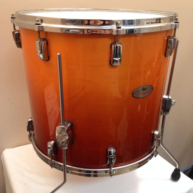 Pearl reference series 16x18 floor tom reverb for 18 floor tom