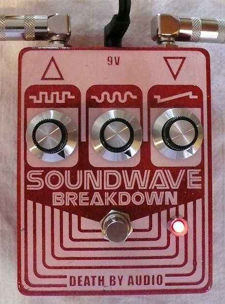 death by audio soundwave breakdown fuzz guitar effects pedal reverb. Black Bedroom Furniture Sets. Home Design Ideas