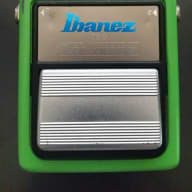 Ibanez TS9 Tube Screamer vintage 90s Reissue 1991 with 80s JRC4558 & TS808 mods