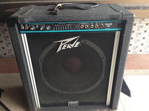 peavey tko 115 black bass combo amp reverb. Black Bedroom Furniture Sets. Home Design Ideas