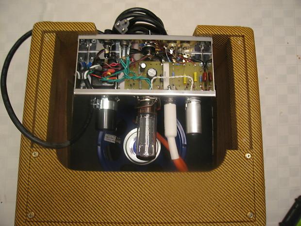 fender champ clone carl 39 s custom amps weber cabinet nos reverb. Black Bedroom Furniture Sets. Home Design Ideas