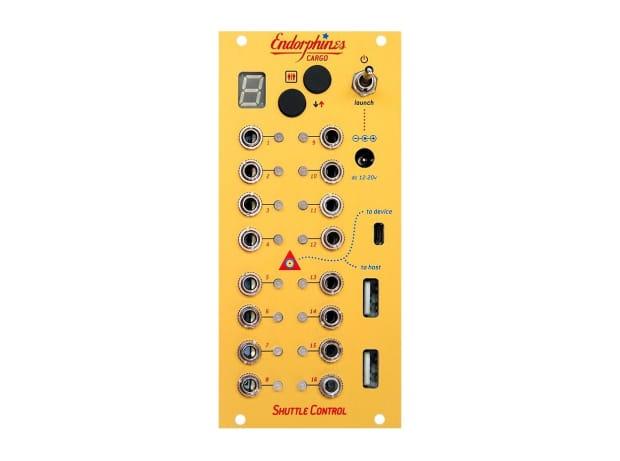 Endorphin.es Shuttle Control MIDI CV Converter EURORACK ...