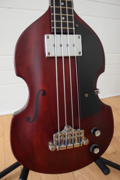 Gibson Auto Sales >> Epiphone EB-1 Bass 1998 Mahogany   Reverb