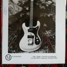 Mosrite Guitar Promo Photo 1984 NAAM 1984 image