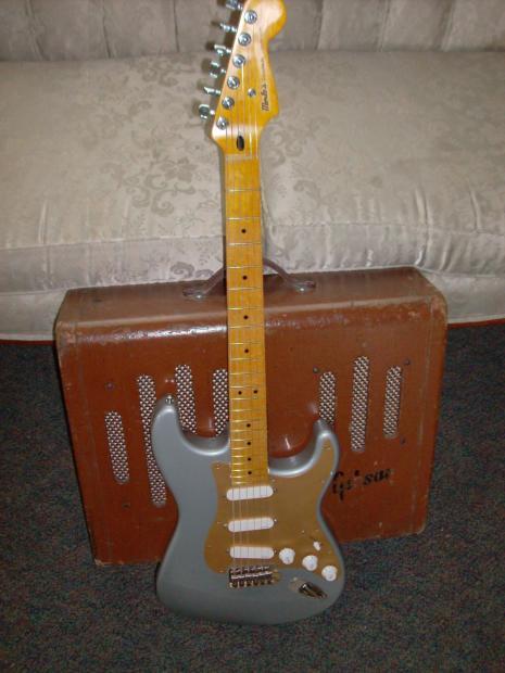 Merles Customs Sat Tel Lite Silver Amp Gold Reverb
