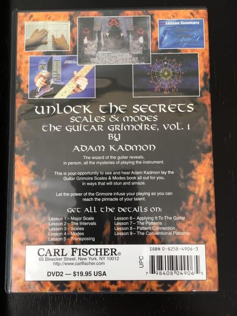 Adam kadmon guitar Grimoire progressions and Improvisation Book Pdf ...