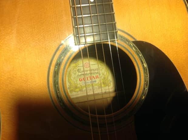 Suzuki Acoustic Guitar Sf