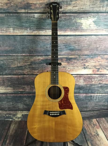 Taylor 110 Gb Natural With Hard Shell Case Reverb