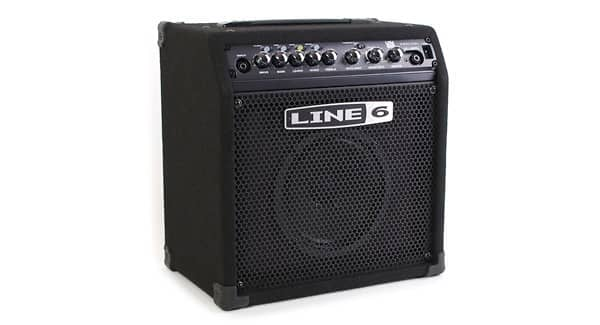 line 6 spider iv how to play music through amp