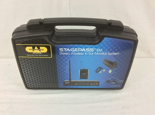 cad audio stagepass iem stereo wireless in ear monitor system reverb. Black Bedroom Furniture Sets. Home Design Ideas