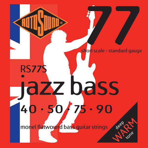 Rotosound Bass String Gauge : rotosound rs77s flatwound short scale electric bass strings reverb ~ Vivirlamusica.com Haus und Dekorationen