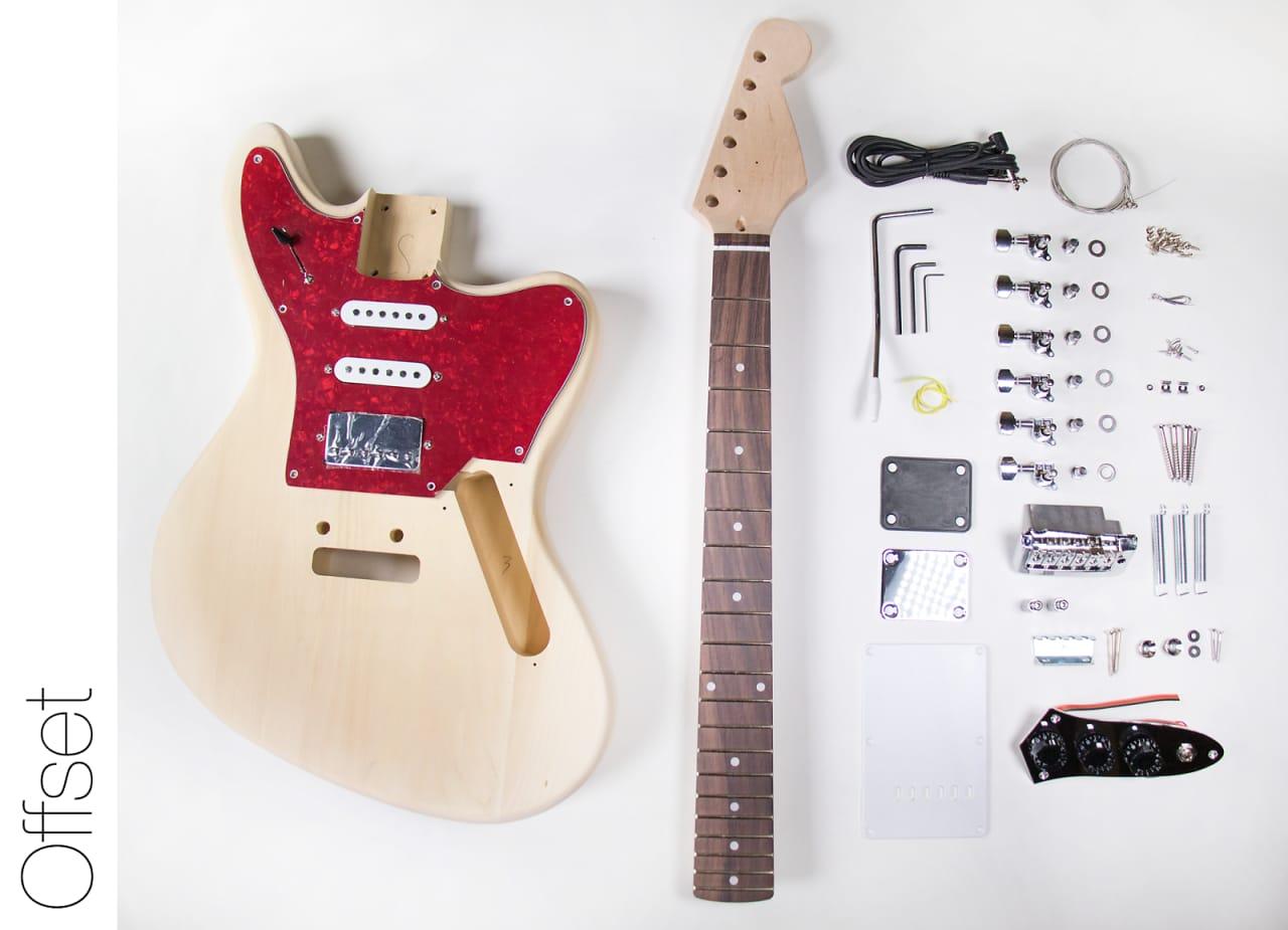Fretwire Diy Guitar Kit : the fretwire diy electric guitar kit jaguar style build reverb ~ Russianpoet.info Haus und Dekorationen