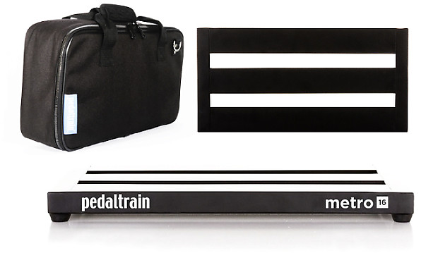 pedaltrain metro 16 guitar effect pedalboard free fast reverb. Black Bedroom Furniture Sets. Home Design Ideas