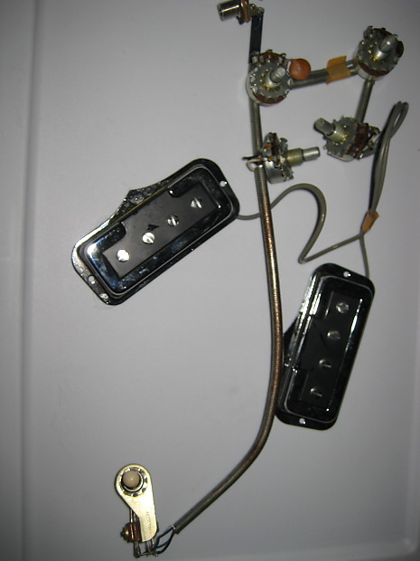 dearmond rowe ind fender coronado bass harness 1968 w. Black Bedroom Furniture Sets. Home Design Ideas
