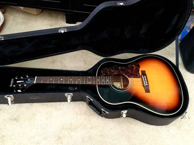 epiphone masterbilt aj 45me 2014 vintage sunburst reverb. Black Bedroom Furniture Sets. Home Design Ideas