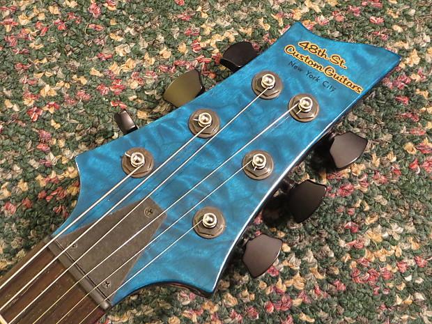 48th street custom guitars new york city semi hollowbody reverb. Black Bedroom Furniture Sets. Home Design Ideas