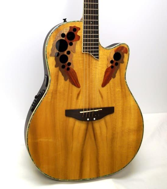 Ovation CC24-FKOA Celebrity Mid-Depth Acoustic-Electric ...