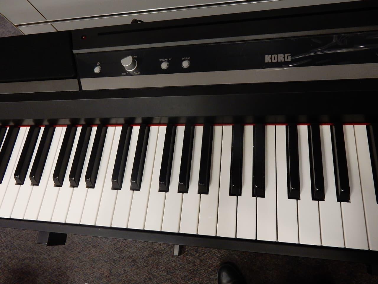 korg sp 170s 88 key keyboard reverb. Black Bedroom Furniture Sets. Home Design Ideas