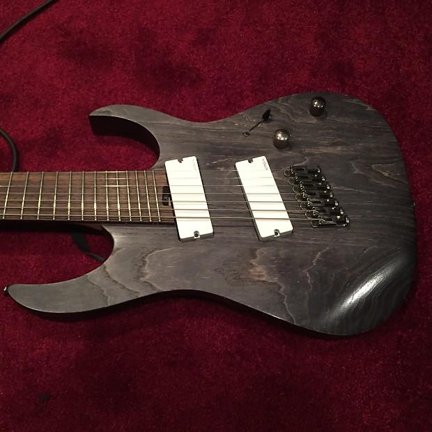 ibanez rgif7 fanned fret 7 string guitar with emg808x reverb. Black Bedroom Furniture Sets. Home Design Ideas
