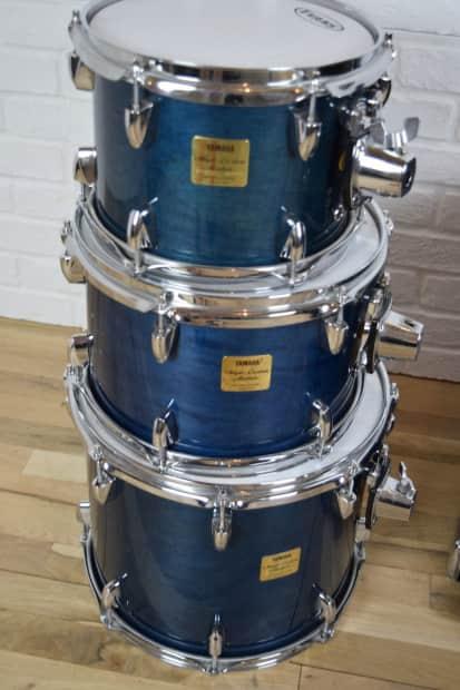 yamaha maple custom absolute 4 piece drum set kit reverb