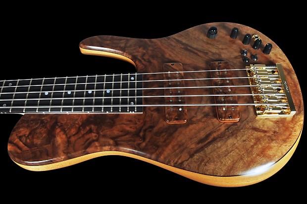 2014 fodera imperial elite 5 string bass burl walnut top mg reverb. Black Bedroom Furniture Sets. Home Design Ideas