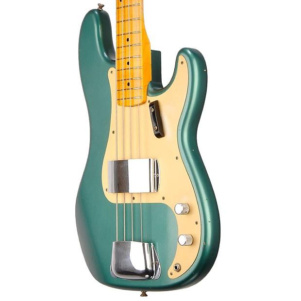 fender 1957 custom shop precision bass journey man sherwood reverb. Black Bedroom Furniture Sets. Home Design Ideas