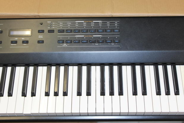 kurzweil sp4 8 digital stage piano keyboard 88 key weighted reverb. Black Bedroom Furniture Sets. Home Design Ideas