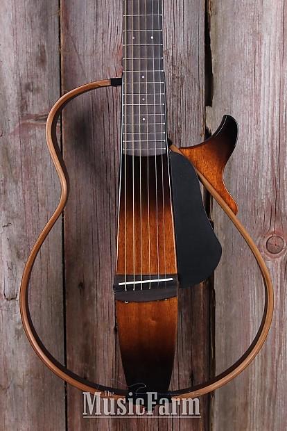 Yamaha slg200s tbs steel string silent acoustic electric for Yamaha slg200s steel string silent guitar