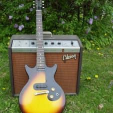 Gibson Melody Maker 1961 Les Paul Junior 2 Color Sunburst Original One owner image