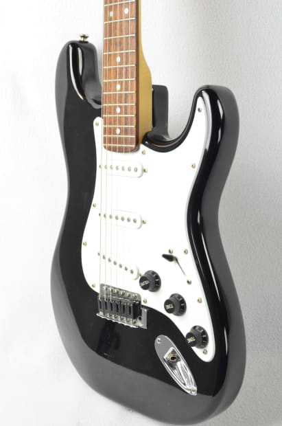 97 squier strat stratocaster electric guitar w mods graph reverb. Black Bedroom Furniture Sets. Home Design Ideas