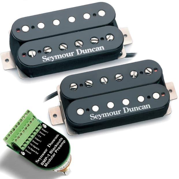 Seymour Duncan Blackouts Wiring
