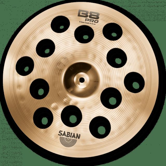 """Sabian B8 Pro O-Zone Crash Cymbal 16"""" image"""