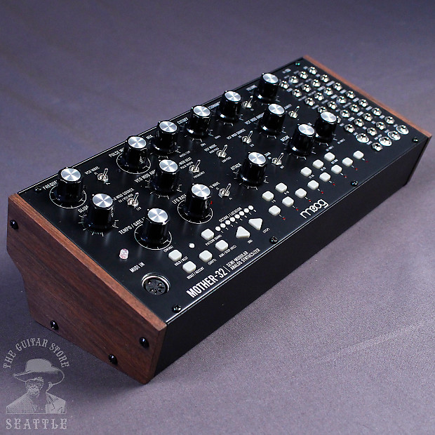 moog mother32 semi modular eurorack format analog synthesizer reverb. Black Bedroom Furniture Sets. Home Design Ideas