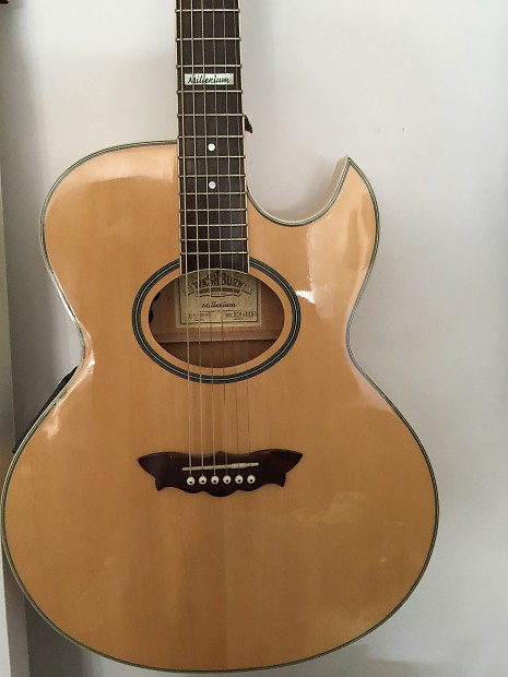 washburn ea 2000 millennium acoustic electric guitar limited reverb. Black Bedroom Furniture Sets. Home Design Ideas